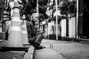 Smoke in Harajuku - Tokyo, 2016