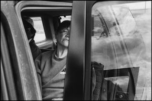 © George Webber - Elizabeth Eagle Speaker at her grandson's funeral, Stand Off, 1999