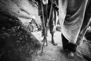 Pilgrimage at Lalibela, Three.