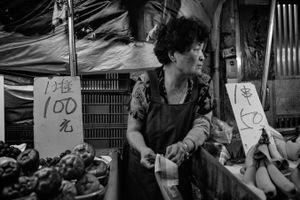 Fruits seller in Taiwan