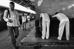 IMPRESSIONS AT THE OLD DELHI RAILWAY STATION 1