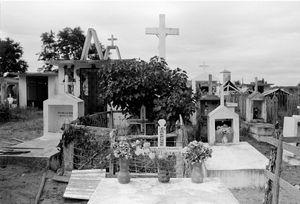 """Cemetery Outside Antsirabe"" 1995"