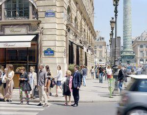 Rue St Honore, 75001 Paris, France - Juin 2013