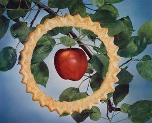 "Victor Keppler, General Mills advertising campaign—Apple Pyequick, 1947; from ""Feast for the Eyes"" (Aperture, 2017). © Victor Keppler. Courtesy George Eastman Museum, gift of Victor Keppler"