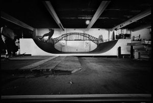 Nathan, Frontside Disaster, Funeral Parlour Ramp, Dulwich Hill, NSW