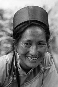 Portrait of a Hmong woman