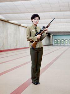 Gun Instructor, Pyongyang, North Korea, 2015