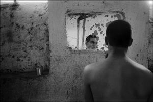 Youth Detention Camp, Khoni, Georgia, 2001 © Klavdij Sluban