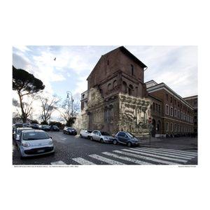 Casa di Nicolò di rienzo [Le Antichitá romane I] circa 1784 / 2016