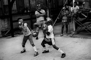 Allenamento al Gimnasio de Boxeo Rafael Trejo, Habana Vieja.