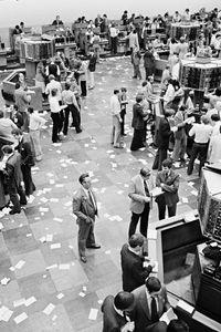 Old Toronto Stock Exchange, Toronto, Canada, 1980