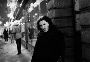 The Scream (Glenda on Belmond Ave), Chicago, IL, 2000                                             © Kimberly Schneider