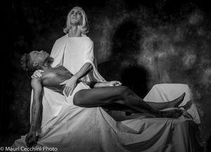 Pieta' di Michelangelo Black & White