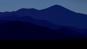 Blue Morning Mountain