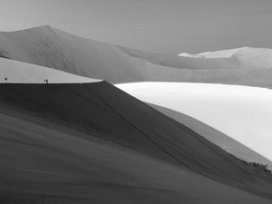 Morning Dune in Namibia