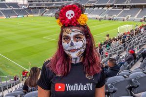 Lupe - Los Angeles Football Club Soccer Fanatic, Banc of California Stadium 2018