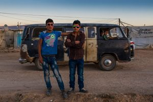 Talal and Fadi, 16 years old, comes from Damasco.