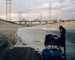 Los Angeles River. California, USA, 2015.
