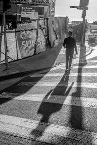 Sunset Blvd Shadows