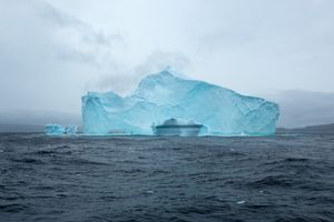 Iceberg, Davis strait