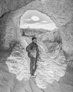 Phil in Peter's Mine, Coober Pedy, Australia, 2016.