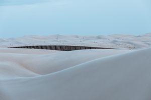 Floating Wall IV, Algodones Sand Dunes, California
