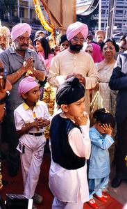 Sikh Wedding, Nagpur, India, 1990