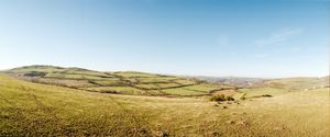 """Above Horseshoe Pass. From the exhibition """"Landscapes"""" © Tom Wood"""