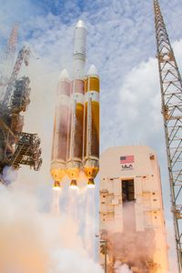 Liftoff of the DeltaIV Heavy NROL37 by United Launch Alliance