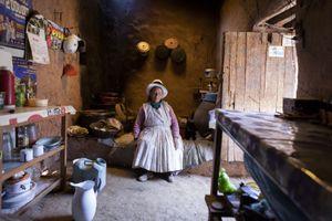 Anciana de Maras