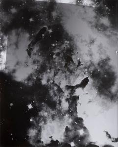 """Silver Nebula,"" Gelatin silver print, 2016."
