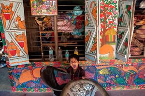Growling Boy, Naya Village, West Bengal