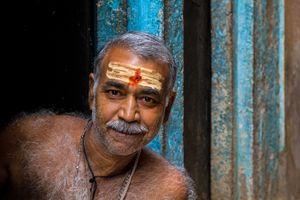 Portrait from Benares