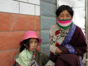 Tibetan nomads. Zeku, Amdo, Qinghai, China. 2007.