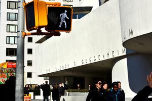 New York, the Solomon R Guggenheim