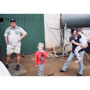 Young Farmer & Family