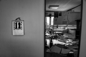 """Abandoned house, Namie city, from the series Fukushima """"No Go"""" Zone, © Pierpaolo Mittica."""
