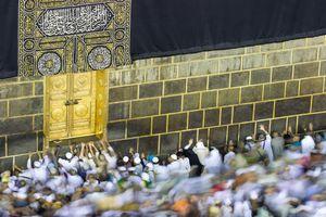 At the Door of the Ka'bah