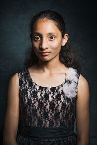 Maria aged 10.