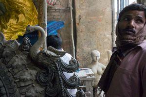 In Kumartuli, Kolkata