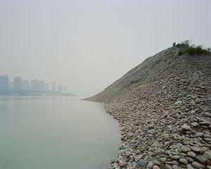Rives du Fleuve Yangsté, District de Yuzhong, Chongqing. Chine, Décembre 2017.