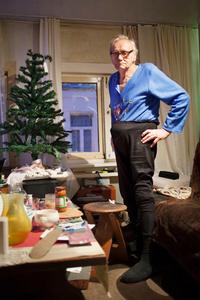 Eddie in his living room