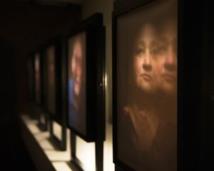 An visualization designed through interactive multimedia installations. By experimenting light boxes, interactive film and working on VR. The viewer will come closer to the world of the blind.