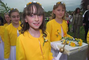 Chislehurst May Queen group, 2006. © Peter Marshall