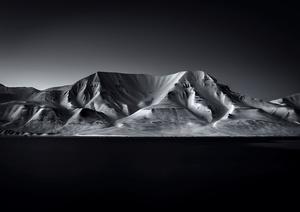 Mountain Hjorthfjellet SPITSBERGEN