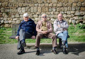 The men of San Gimignano