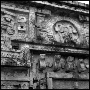 Las Monjas facade