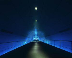 Blue Tunnel #2, Osaka
