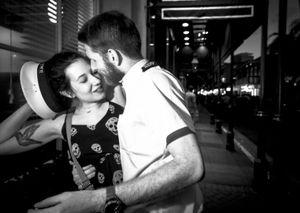 A Tender Moment, New Orleans LA, April 2015
