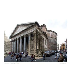Pantheon [Le Antichitá romane I] circa 1784 / 2016